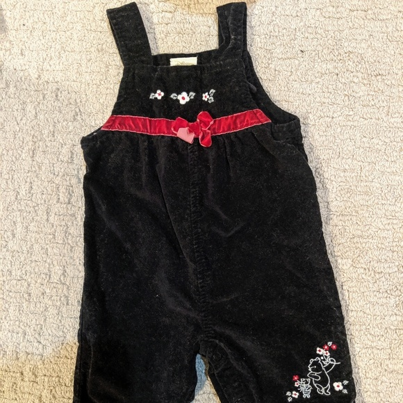 Disney Other - Disney baby Winnie the Pooh Bear overalls 9 months